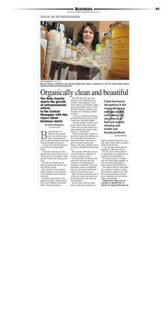 Zero Xeno's humble beginnings as Organically Clean Farmer Market vendor.