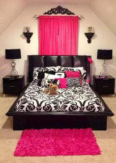 10 tips for decorating and organizing your room for summer - Damask Bedroom Ideas