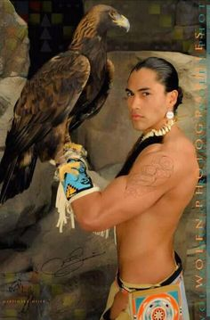 Image result for NAtive American Male Model with Hawk