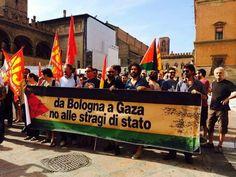 2/08/14 Da Bologna a #Gaza: NO ALLE STRAGI DI STATO !!!.