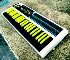 Korg Poly 800 [custom] w/ Moog Slayer MOD