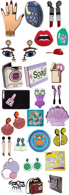yaz bukey accessories #YazBukey #LindaFarrowGallery #Collaboration