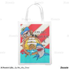 A Pirate's Life... Market Tote