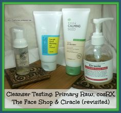 More Cleanser Reviews! cosRX, Primary Raw, The Face Shop plus Ciracle Revisited | Unboxing Beauty
