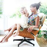 At home with Constance Zimmer & Coco