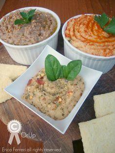 Ogni riccio un pasticcio - Blog di cucina: Hummus di Ceci, Lenticchie e Fagioli