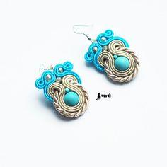 Summer+soutache+earrings+GOOD+PRICE++by+MrOsOutache+on+Etsy,+$23.00