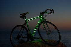 BikeGlow safety light. On my Christmas list for myself!