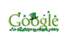 2005 St Patrick's Day  Google went for the hat-and-shamrocks double whammy in 2005