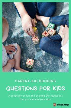 Do you want to know more about your kid and develop a stronger bond? Then you should learn these questions to ask kids. It's simple yet fun and exciting! The best part about this is that these daily questions for kids are free! Click now to learn more! Kids Questions, This Or That Questions, Funny Kids, Kids And Parenting, Your Child, Bond, Activities, Learning, Children