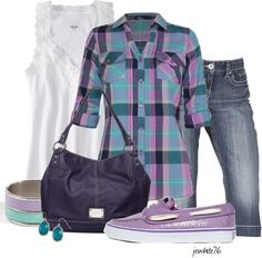 """""""Casual Affordable Fun"""" by jewhite76 ❤ liked on Polyvore"""