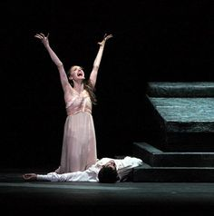 Marianela Nunez and Thiago Soares in Romeo and Juliet.