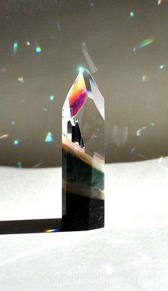 Stone Crystal Prism by MysticPrismStudio on Etsy