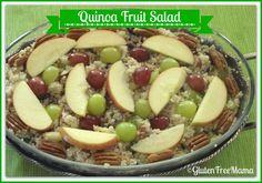 Quinoa Fruit and Nut Salad