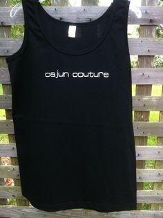 Cajun Couture tank