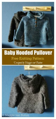 baby pullover The Baby Hooded Pullover Free Knitting Pattern is a great way to keep your little one nice and warm. Its an easy pattern and a fast knit. Baby Hoodie, Baby Boy Sweater, Knit Baby Sweaters, Free Baby Sweater Knitting Patterns, Free Knitting, Baby Knitting Patterns Free Cardigan, Free Childrens Knitting Patterns, Beginner Knitting, Finger Knitting