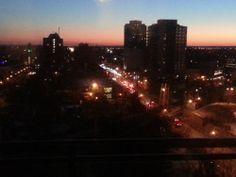 Downtown Brampton at night!