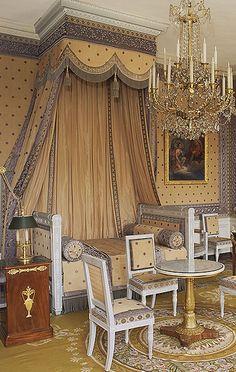 Emperor Napoleon Bonapart's Bedroom ~ The Grand Trianon ~ Versailles Palace ~ France