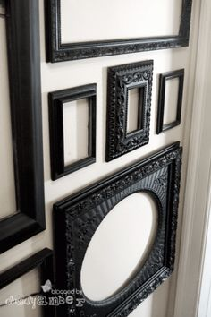 Upcycled Goodwill frames