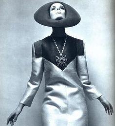 Space age fashion by Lanvin, 1966