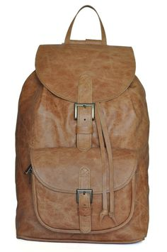 Check out this item in my Etsy shop https://www.etsy.com/uk/listing/166792087/tan-genuine-leather-backpack