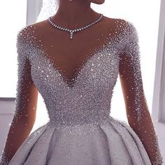 71 illusion long sleeve wedding dresses you'll like 8 Wedding Gowns With Sleeves, Long Wedding Dresses, Bridal Dresses, Dresses With Sleeves, Gown Wedding, 1920 Dresses, Wedding Bride, Modest Wedding, Dresses Dresses
