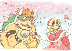 Beauty and the Koopa??? by LadyBeemer