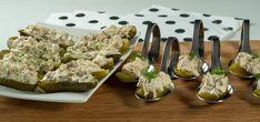 Snelle makreelsalade in augurk - TheNewFood Paleo, Keto, Go For It, New Recipes, Grains, Weight, Food, Salads, Essen