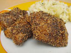 Gebackener Karpfen in der Mohnkruste mit blauem Kartoffelsalat, ein sehr schönes Rezept aus der Kategorie Fisch. Bewertungen: 7. Durchschnitt: Ø 3,6.
