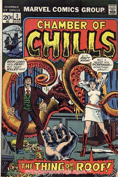 Chamber of Chills Vintage Horror Comic Book
