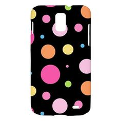 New Cute Polka Dots Samsung Galaxy S II Skyrocket Hardshell Case Cover Samsung Galaxy S2 Skyrocket Case Polka Dots