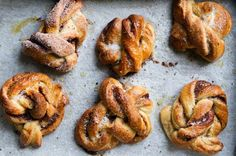 Listen, I know Americans LOVE their glazed cinnamon rolls, but I'm here to tell you that Swedish cinnamon rolls are where it's at. Try these rustic beauties once and you'll never look back. Get the recipe here.