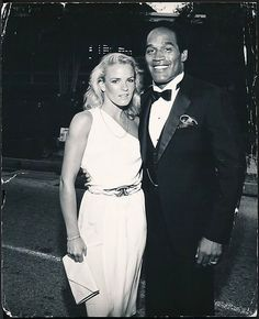 rare original photo o. simpson & nicole brown a night out on the… Ronald Goldman, 1st World Problems, Oj Simpson, New Wave Music, Ladies Gents, Ex Wives, Second Child, True Crime, Historical Photos