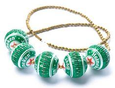 Criando bijuterias com materiais recicláveis - Arte Reciclada