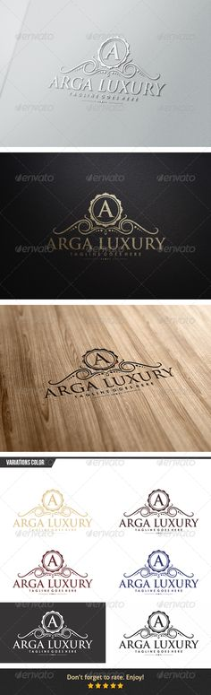 Arga Luxury Logo — Vector EPS #palace #royal • Available here → https://graphicriver.net/item/arga-luxury-logo/6153882?ref=pxcr