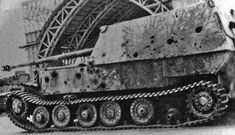 Panzerjäger Tiger(P) « Ferdinand » (Sd.Kfz. 184) Armor test1