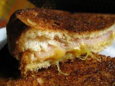 grilled cheese & turkey sandwich with pineapple lime jam. i am making this jam.
