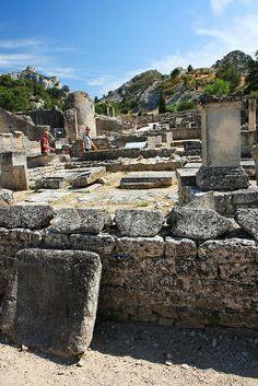Roman city of Glanum, Provence, France