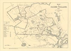 Maps concerning THE SALEM WITCHCRAFT TRIALS.