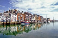 Weymouth Harbour Weymouth Harbour, Explore, Painting, Boats, Painting Art, Paintings, Exploring, Drawings