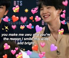 Cute Memes For Her, Love Memes, Bts Meme Faces, Bts Memes, Funny Memes, Cheer Up Quotes, Jin Dad Jokes, Bts Reactions, Wholesome Memes