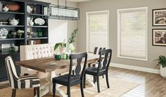 Budget Blinds provides custom blinds & window coverings for your home including wood, faux wood, fabric & much more. Schedule a free in-home consultation! White Wooden Blinds, Wooden Window Blinds, Faux Wood Blinds, Blinds For Windows, Shutter Blinds, Beautiful Blinds, Aluminum Blinds, Horizontal Blinds, Budget Blinds
