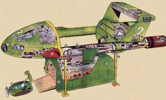 Image result for haynes cut away of the thunderbirds