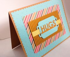 A personal favorite from my Etsy shop https://www.etsy.com/listing/255543723/hand-made-cards-hugs-send-hugd-hand