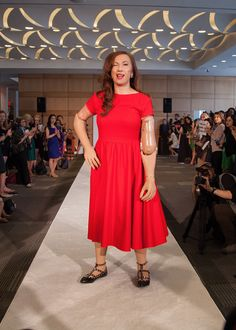Carrie Hammer Showcases Role Models at Fashion Week | Slashed Beauty