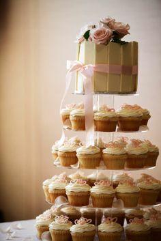 La torta nuziale, tipologie e stili: cupcakes - Matrimonio .it : la guida alle nozze