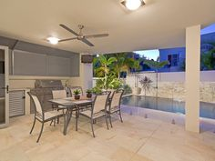 outdoor living areas image: bbq area, pool - 157288