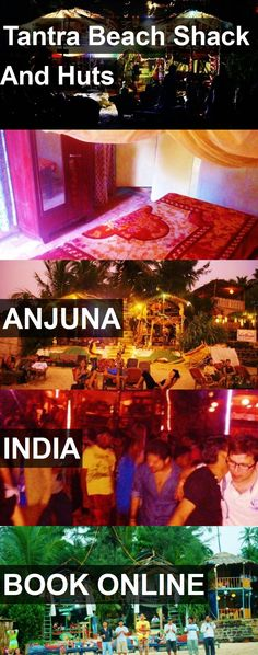 Hotel Tantra Beach Shack And Huts in Anjuna, India. For more information, photos, reviews and best prices please follow the link. #India #Anjuna #TantraBeachShackAndHuts #hotel #travel #vacation