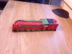 Vintage Tin Toy Train | eBay