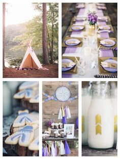 Boho tribal birthday party via Kara's Party Ideas!